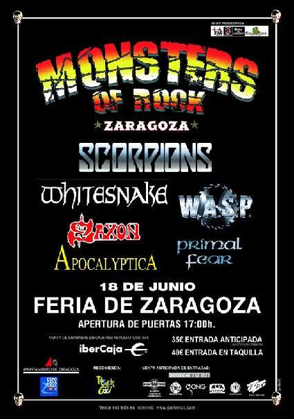 7-MONSTERS OF ROCK 2006