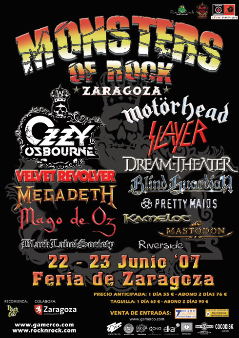 11-MONSTERS OF ROCK 2007